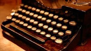 typewriter books