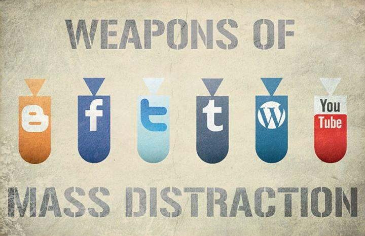 social media distraction