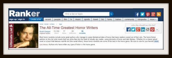 top 50 horror